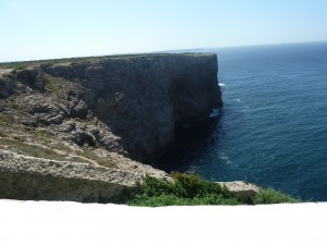 The Cliffs at Sagres Portugal.