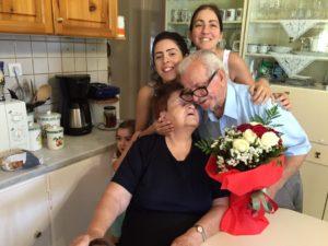 Papou & Yia Yia celebrate 62 years of marriage