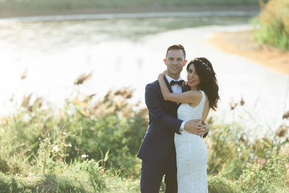 Bride and Groom sunset photos at Arlington Estate in Kleinburg