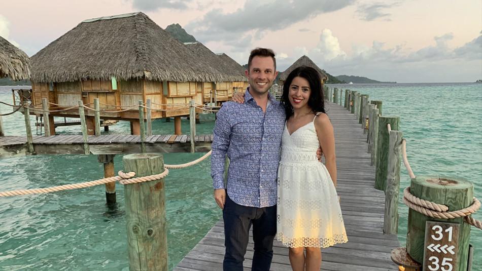 Honeymooners stayed in Overwater Bungalow at Pearl Resort in Bora Bora